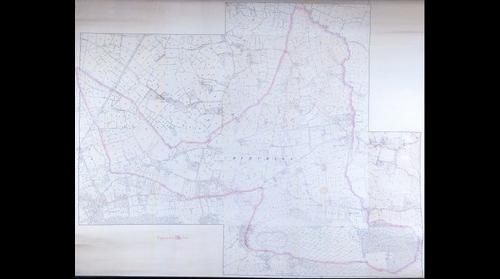 Churchill 1885 OS Map