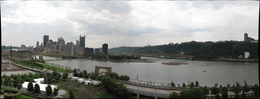 Paddle at the Point - Pittsburgh, PA - world-record-sized flotilla?