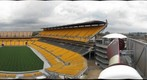 Heinz Field from the Heinz scoreboard