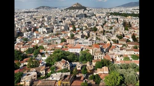 Athens - view from Akropolis