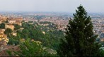 Bergamo from San Vigilio