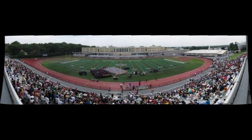 Harrisburg High Graduation Full School and Field