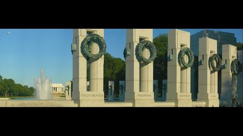 World War II Memorial - Lincoln Memorial, Washington, DC
