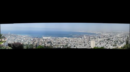 Panorama view of Haifa