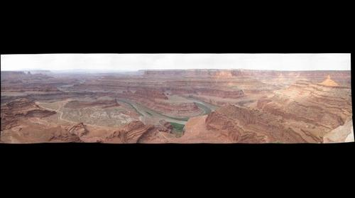 Full Deadhorse Point Pano