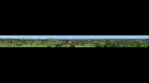 City view from Krakus Mound