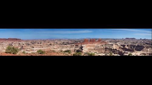 Maze Overlook panorama