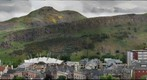 Edinburgh, Arthur&#39;s Seat from Carelton Hill