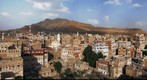 Evening view of the city of Sana&#39;a - Yemen