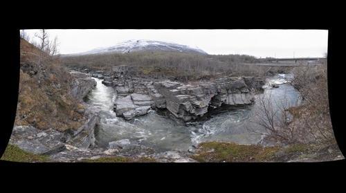 Abisko Wasserfall