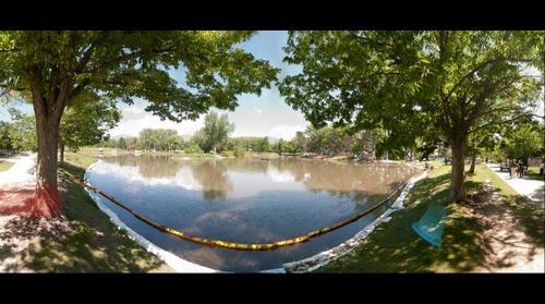 Oil Spill: Salt Lake City, Liberty Park 2010