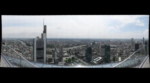 From Main-Tower, Frankfurt, Germany