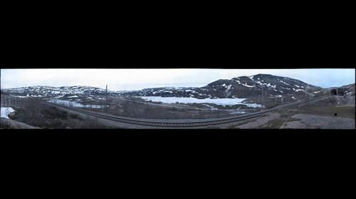 Bahnstrecke zwischen Sösterbekk und Riksgraensen (Norwegen)