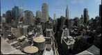 Midtown Manhattan - Looking west down 37th st