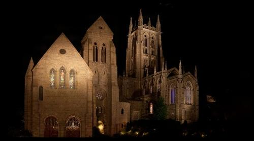 Bryn Cathedral At Night