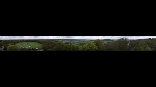 Chilterns from Bridgewater Monument