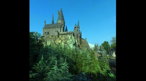 Harry Potter Castle at  Universal Studios Florida