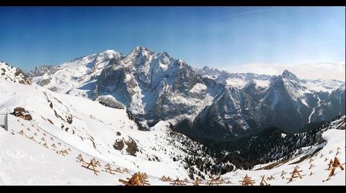 Marmolada: Punta Penia, Gran Vernel  and Colac - Dolomiti - Italy