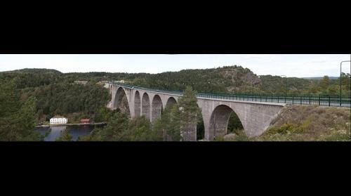 Bridge at Svinesund, Border Sweden-Norway