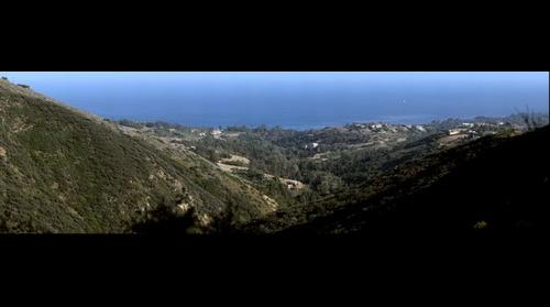 View over Malibu California - First Giga Pan