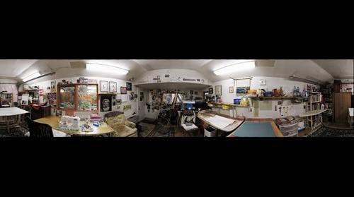 Betty's studio