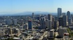 Seattle, WA, looking south from the Space Needle (July 21, 2006)