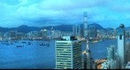 Hong Kong Western Kowloon at Magic Hour