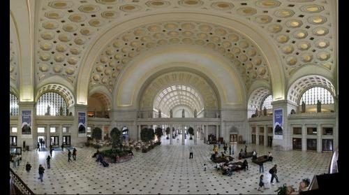 Washington DC Union Station west end interior