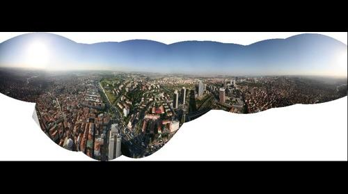 Safir'den panorama 01_Istanbul from top of th highest building.