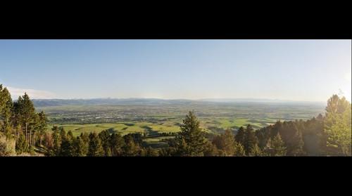 View of Bozeman, Montana