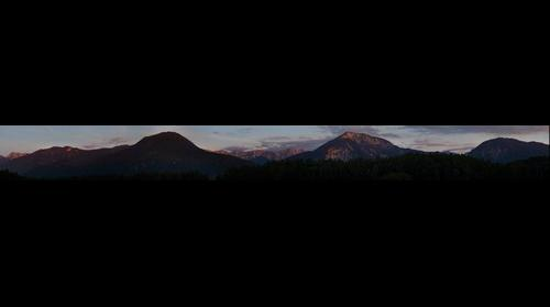 Karawanken Sonnenuntergang