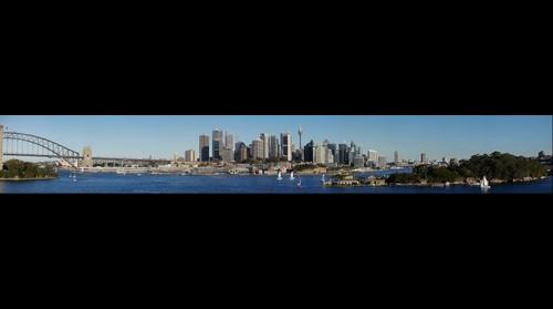 Sydney City and Harbour from Balls Head