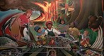 Denver Airport Murals 1/4