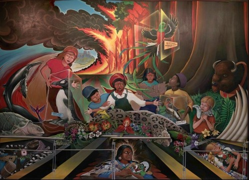 denver airport murals. denver airport murals 1/4