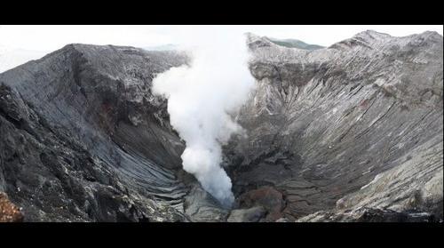 Crater del volcan Bromo