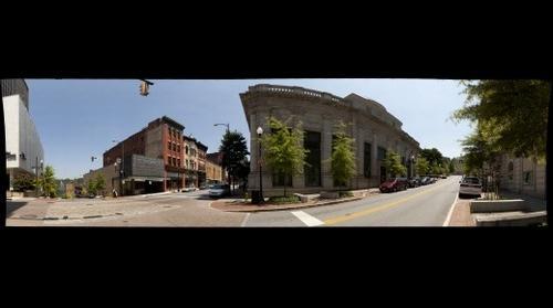 Corner of Ninth and Main Streets - Lynchburg, Va