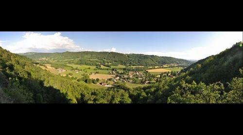 Vallee de la Jordanne - de Saint Simon a Rouffiac