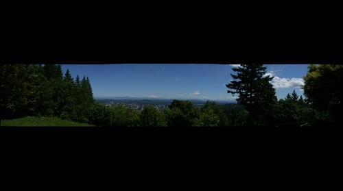 Mt. Hood from the Pittock Mansion