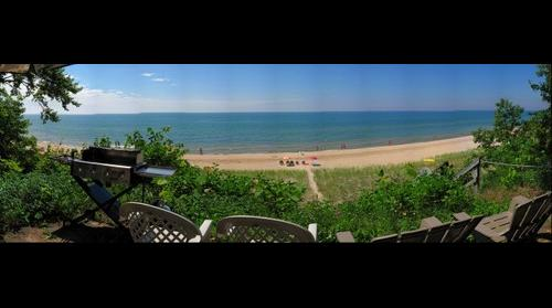 Linden Hills Beach House View