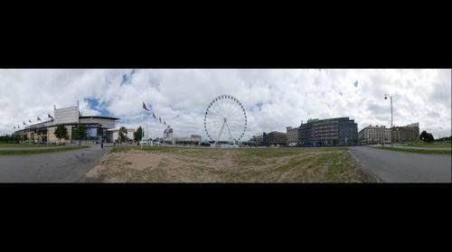 Gothenburg City Sweden; Opera house & The Wheel
