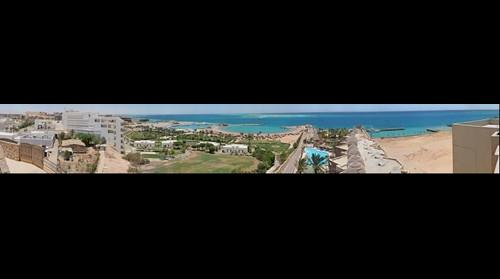 1.3 Gigapixel shot from the roof of Hotel Sahara in Hurghada
