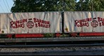 RBBB Circus train flat cars with equipment carts