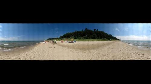 Linden hills Beach 360 Degree each View