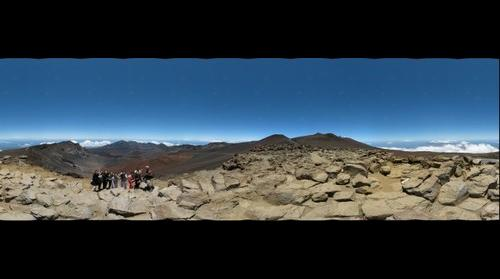360 from on top of Haleakala