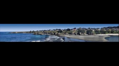 Mendocino Village and Big River