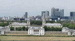 GP88 City of London from Greenwich Observatory