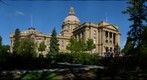 Alberta Legislature building, east side
