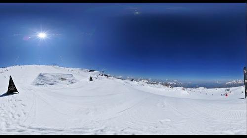Vue du Snowpark