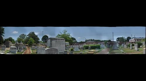 Oakland Cemetery Jewish Section