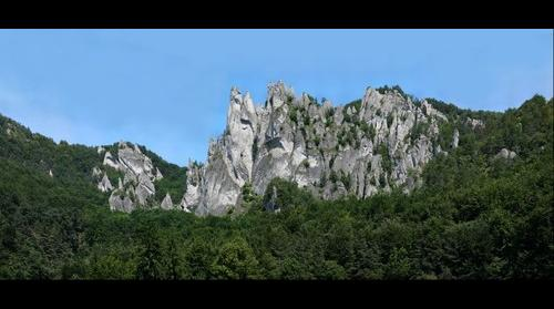 Rock's towers in Sulov rocks - Slovakia